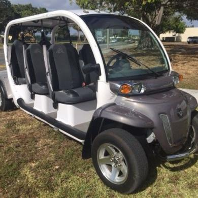 Chrysler Gem E6 Utility Lsv 6 Passenger Seat Golf Cart Street Legal